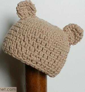 a181b6bb20b Little Bear Hat Free Crochet Pattern - Craft ideas for adults and kids