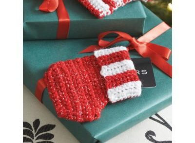 Little Gift Card Stocking Free Crochet Pattern