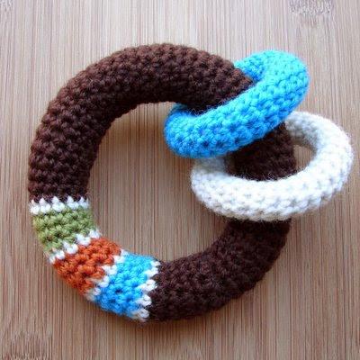 Loop Baby Toy Free Crochet Pattern