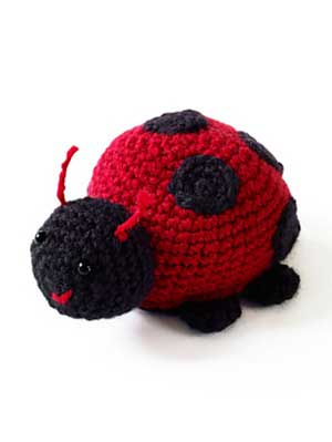 Lorelei the Lady Bug Free Crochet Pattern