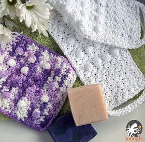 Luxurious Bath Set Free Crochet Pattern