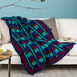 Luxurious Comfort Throw Free Crochet Pattern