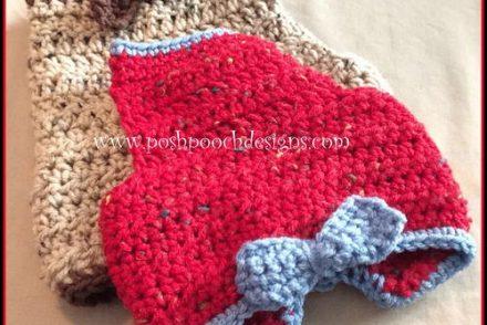 Max's Dog Harness Free Crochet Pattern