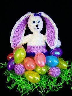 Miss Bunny Free Crochet Pattern