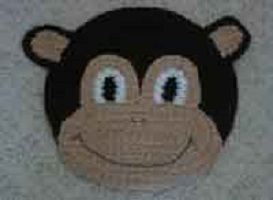 Monkey Bulletin Board Free Crochet Pattern
