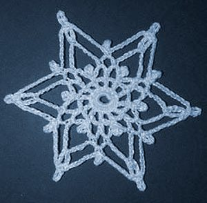 Northern Snowflake Free Crochet Pattern