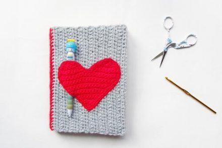 Notebook Sweater Free Crochet Pattern