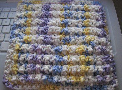 Nubby Dishcloth Free Crochet Pattern