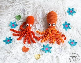 Octopus Free Crochet Pattern