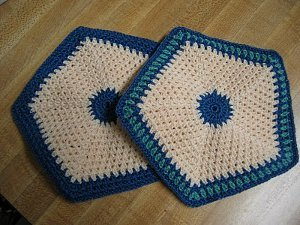 Old Fashioned Potholders Free Crochet Pattern