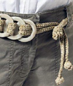 Olympia Suede Belt Free Crochet Pattern