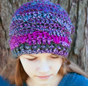 one-skein-crochet-slouchy-beanie-free-crochet-pattern