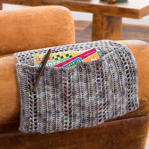 Organizer Caddy from Red Heart Free Crochet Pattern