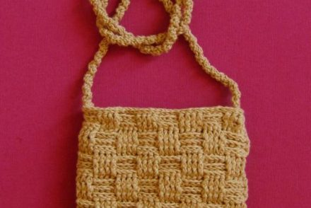 Over the Shoulder Mini Purse Free Crochet Pattern