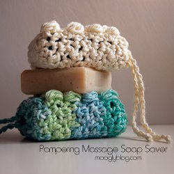 Pampering Massage Soap Saver Free Crochet Pattern