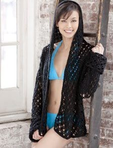 Party By the Pool Coverup Free Crochet Pattern