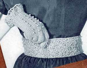 Pearl Belt Free Crochet Pattern
