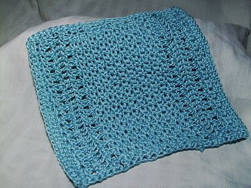 Pima Face Cloth Free Crochet Pattern