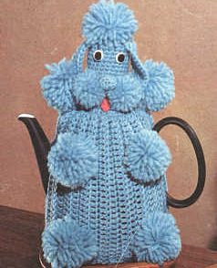 Poodle Tea Cozy Free Crochet Pattern