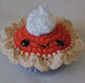Pumpkin Spice Pie Free Crochet Pattern
