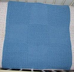 Quick Blocks Baby Afghan Free Crochet Pattern