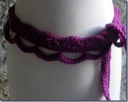 Quick Easy Lace Belt Free Crochet Pattern