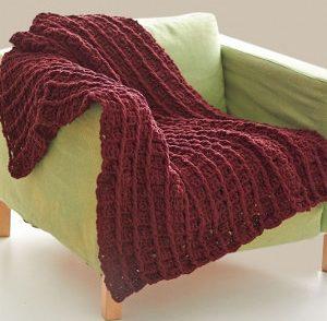 Redwood Waffle-Ghan Free Crochet Pattern