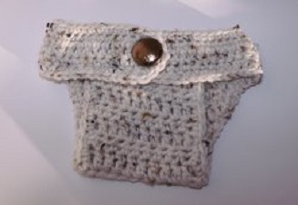 Ribbed Diaper Cover Free Crochet Pattern