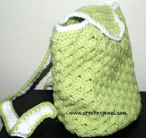 Shell Backpack Free Crochet Pattern