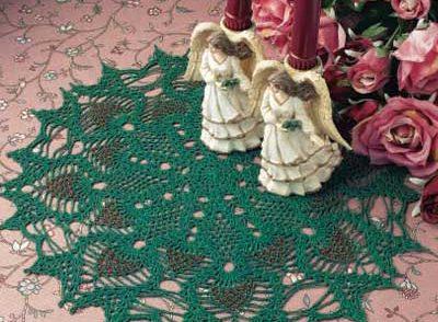Shimmering Pineapple Doily Free Crochet Pattern