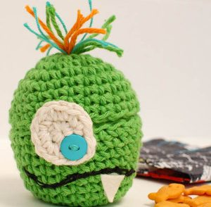 Silly Monster Cozy Free Crochet Pattern