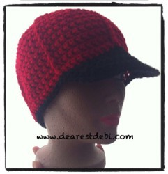 Simple Baseball Cap Free Crochet Pattern