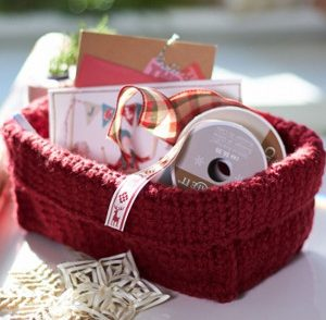 Simple Stash Basket Free Crochet Pattern