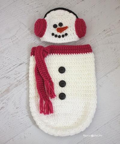 snowman-hat-cacoon-crochet-pattern