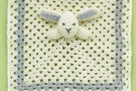 Snuggle Bunny Baby Blanket Free Crochet Pattern - Craft