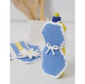 Soapy Apron Free Crochet Pattern