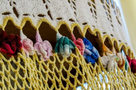 Solid Shell Stitch Towel Topper Free Crochet Pattern