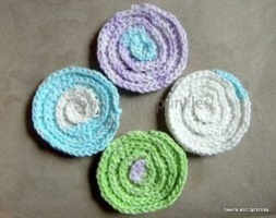 Spa Day Scrubby Free Crochet Pattern