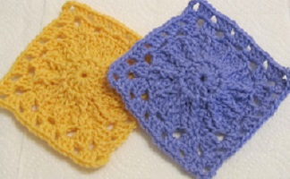 Spin Around Square Free Crochet Pattern