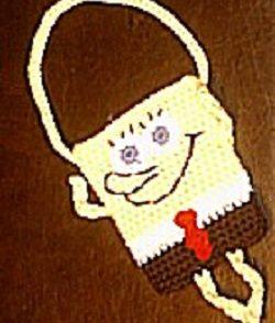 Sponge Buddy Bag Free Crochet Pattern
