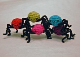 Spooky Spiders Free Crochet Pattern