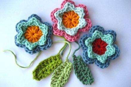 Spring Fever Easy Flowers Free Crochet Pattern