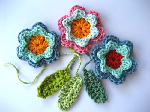 Spring Fever Easy Flowers Free Crochet Pattern Craft Ideas For
