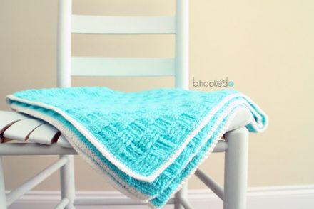 Springtime Baby Blanket Free Crochet Pattern