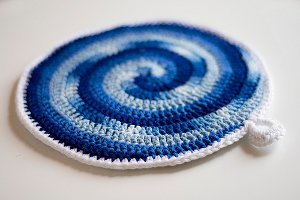 Stir Me Up Potholders Free Crochet Pattern