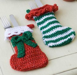 Stocking Ornament Elf Sized Free Crochet Pattern