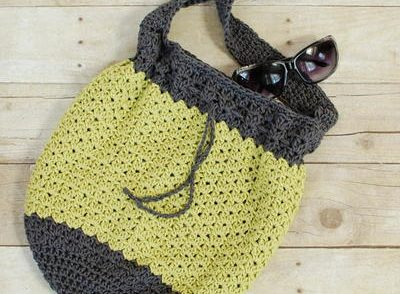 Summer Bucket Bag Free Crochet Pattern