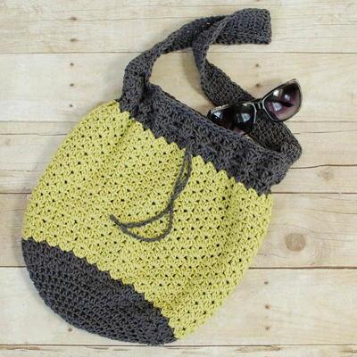 Summer Bucket Bag Free Crochet Pattern