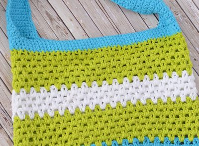 Summer Fun Tote Free Crochet Pattern