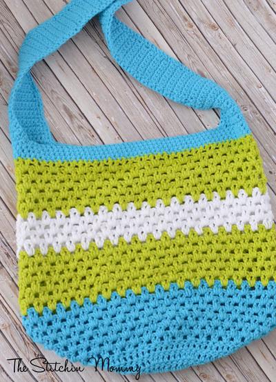 Summer Fun Tote Free Crochet Pattern
